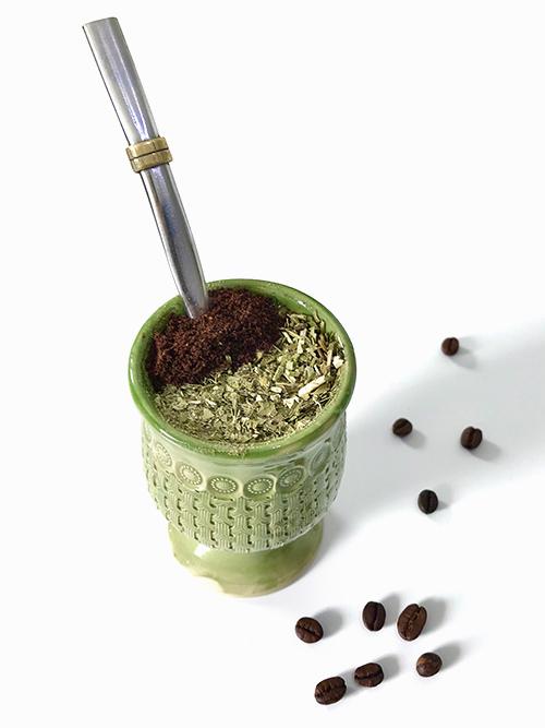 Yerba zdodatkiem kawy