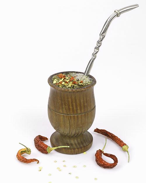 Yerba zpapryką chilli