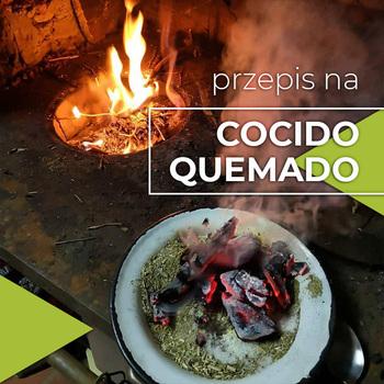 Mate Cocido Quemado - yerba z żarzącym się węglem